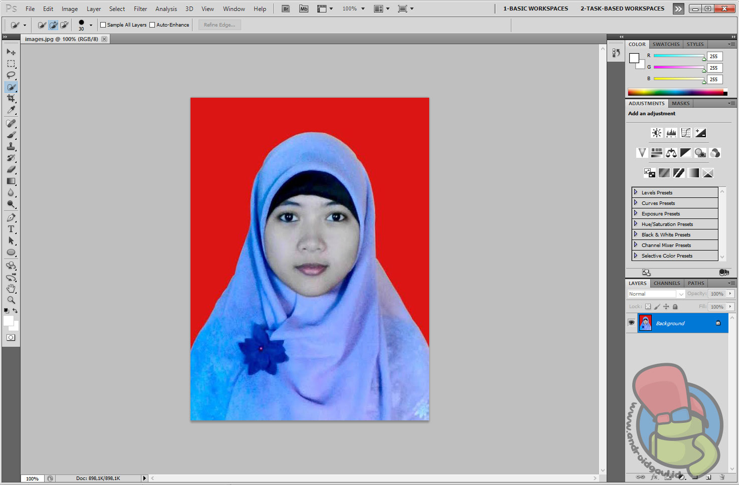Cara Mengganti Background